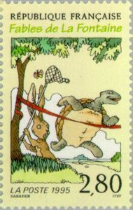 La Fontaine Fables: The Tortoise and the Hare