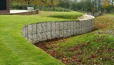 Gaviones para el paisaje y la estabilización en High Wycombe