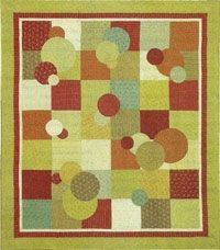 Bubblicious.  Free quilt pattern.  I love this so much, someone please teach me!!  :)