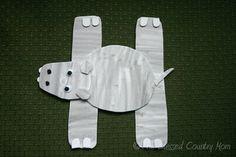 H Hippo Foam Craft