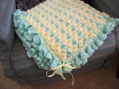 Ravelry: Project Gallery for Crocodile Stitch Baby Blanket pattern by Bonita Patterns
