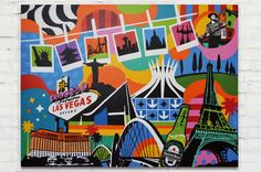 Discover some of the artworks and inspiration by Pop Artist Lobo.   Pop Art Artists, Art, Artwork, Eiffel Tower