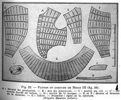 16th Century Doublet pattern