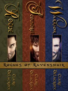 The Rogues of Ravensmuir medieval trilogy - by Claire Delacroix