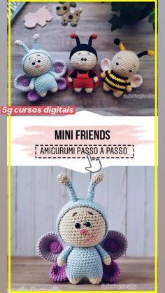 Crochet toys 610800768202339186 - crochet Mini Friends easy pattern – easy crochet amigurumi pattern for beginners Source by monique_sene Crochet Simple, Crochet Diy, Crochet Crafts, Crochet Projects, Knitting Projects, Easy Knitting Patterns, Crochet Patterns Amigurumi, Crochet Dolls, Cowl Patterns