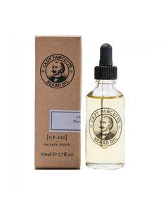 """Aceite para Barba """"Captain Fawcett's (CF.332) Private Stock Beard Oil"""" hecho con aceites de almendra dulce y jojoba que hidratan, calman y tonifican tu barba y piel."""