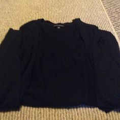 Black Pullover Good Condition. Very Nice. Has Pockets. Banana Republic Sweaters