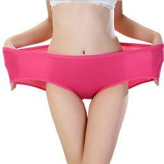 TEERFU 5 PACK Womens Bamboo Brief Soft Underwear Comfort Bottom Hipster Panties