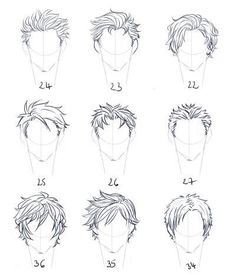 「art is an adventure into an unknown world」 Boy Hair Drawing, Guy Drawing, Drawing Poses, Manga Drawing, Character Drawing, Drawing People, Figure Drawing Reference, Hair Reference, Art Reference Poses