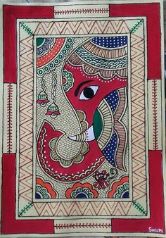 35 Easy Madhubani Art and Paintings for Beginners 35 Easy Madhubani Art and Paintings for Beginners sarah Waschke swaschke malen There is no doubt a lot of hype nbsp hellip Painting for beginners Madhubani Paintings Peacock, Kalamkari Painting, Madhubani Art, Indian Art Paintings, Worli Painting, Ganesha Painting, Ganesha Art, Fabric Painting, Indian Folk Art