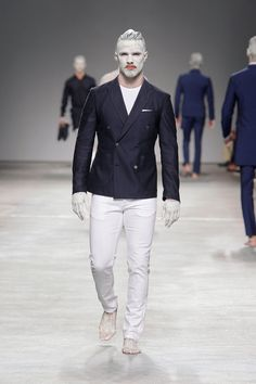 Male Fashion Trends: Nuno Gama Spring-Summer 2018 - Moda Lisboa