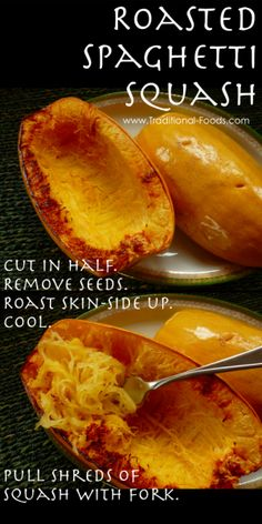 Roasting Spaghetti Squash – Instructions for First-Timers