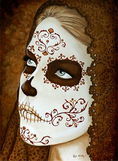 Check out this item in my Etsy shop https://www.etsy.com/listing/196557319/day-of-the-dead-giclee-print-los-ojos-de