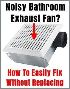 How To Repair A Bathroom Fan Attic Flow And Ceilings - Fix bathroom fan