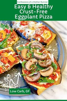Healthy Pizza, Easy Dinner Recipes, Healthy Dinner Recipes, Easy Meals, Gf Recipes, Free Recipes, Easy Recipes, Healthy Life, Cooking