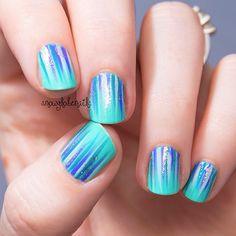 Instagram photo by snowglobenails #nail #nails #nailart