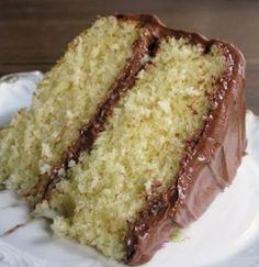 Old Fashioned Butter Cake {100 year old treasure from 1910} - It is a surprisingly delicious cake!