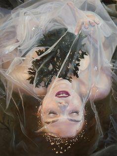 "Kari-Lise Alexander Paints Nordic Beauties in ""A Lovelorn Theft"" | Hi-Fructose Magazine"
