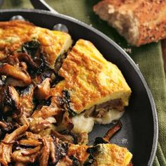 Frittata with Sausage, Wild Mushrooms and Cheddar | Williams-Sonoma
