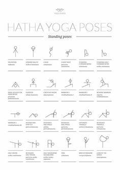 108 yoga stick figure poses english  sanskrit names