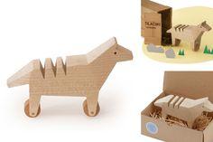 #Gioco Last Tilacino by Alburno    45,00 € #handmade #legno #wood #kids #bambini #artigianato