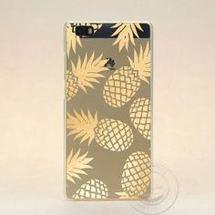 2016 delicious hollow fruit drinks coffee case for Huawei P7 P8 P8 lite P9 P9 lite transparent hard plastic phone case