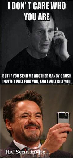 Love that it's Robert Downy Jr. being a smart ...