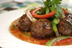 Stay in for dinner tonight and cook delicious and flavorful Sweet and Sour Meatballs!