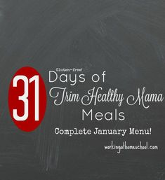 31 Days of Trim Healthy Mama Meals for March! Free printable menus and shopping lists, gluten-free with dairy-free options! Trim Healthy Recipes, Trim Healthy Mama Plan, Thm Recipes, Get Healthy, Healthy Eating, Budget Recipes, Healthy Foods, Free Recipes, Clean Eating