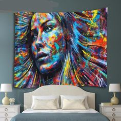 Tapestry Wall Hanging Psychedelic Art