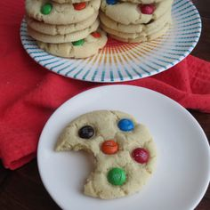 Shopping Mall M&M Sugar Cookies.  You all know exactly what I'm talking about.  Whether your mall had a Mrs. Fields or an Original Cookie Company, or The Great American Cookie Company, they all...