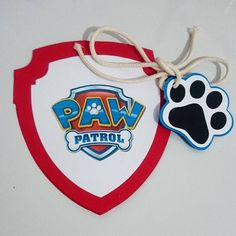 Convite Patrulha Canina - Tema: Patrulha Canina