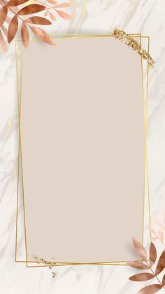 iPhone Wallpaper Obtain premium picture of Leafy golden rectangle body vector by nunny about backgro Flower Background Wallpaper, Framed Wallpaper, Phone Screen Wallpaper, Cute Wallpaper Backgrounds, Pretty Wallpapers, Flower Backgrounds, Aesthetic Iphone Wallpaper, Background Patterns, Aesthetic Wallpapers