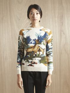 Moonchild dead wood creek deer sweater