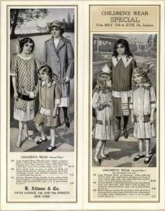 Summer Apparel B. Altman & co. 1913 ... (A0199) - Emergence of Advertising in America - Duke Libraries
