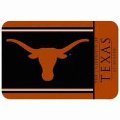 NCAA Texas Longhorns Small Floor Mat by WinCraft. $17.99