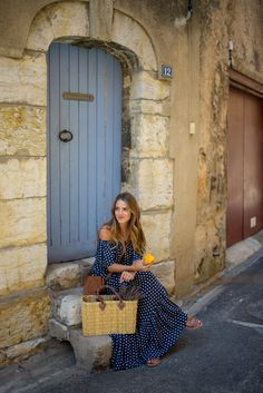 Gal meets Glam: Aups, Provence, France