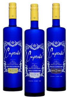 i didn't know cupcake made vodka! sounds so yummy!
