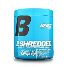Beast Sports Nutrition 2 Shredded Beast Punch - 45 Servings #Sports #Supplements #Fitness #BodyFitness #BodyBuilding