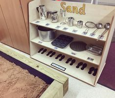 Sandbox goals - Samantha Tung - Jessie Official Page Reggio Emilia Classroom, Reggio Inspired Classrooms, Eyfs Classroom, Classroom Layout, Classroom Organisation, Learning Spaces, Learning Environments, Curiosity Approach Eyfs, Early Years Practitioner