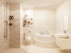 дизайн санузла, ванная комната в стиле модерн, ремонт санузла, идея дизайна ванной комнаты