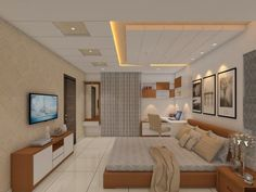 Here you will find photos of interior design ideas. Get inspired! Interior Ceiling Design, House Ceiling Design, Ceiling Design Living Room, Bedroom False Ceiling Design, False Ceiling Living Room, Living Room Designs, Best False Ceiling Designs, Bedroom Pop Design, Luxury Bedroom Design
