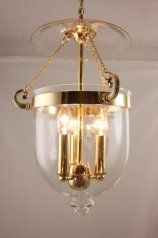 Elegant Georgian lantern in polished brass finish. Hand made in Yorkshire by traditional lighting manufacturers, Kansa Lighting Ltd. www.kansacraft.co.uk