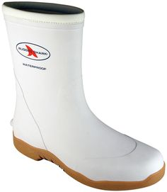 Rugged Shark Men Great White Performance Deck Boots