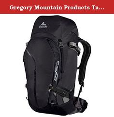 Gregory Mountain Products Targhee 45 Backpack, Basalt Black, Large. A great guide pack or for longer tours and overnight trips, the Targhee 45 has ample room for larger, on-mountain loads.
