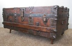 low profile steamer trunk coffee table - Google Search