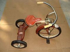 This looks just like my first tricycle!  I was 4 yrs. old, 1963. 1960's tricycles | 1950-1960's murray tricycle