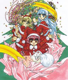 A Magic Knight Rayearth Christmas