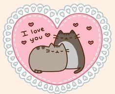 Pusheen I love you