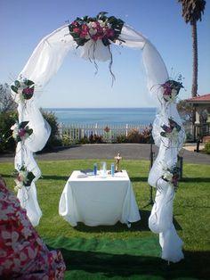 wedding arch decorations - Google Search